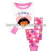 beautiful Low price knitted printed baby clothes beijing
