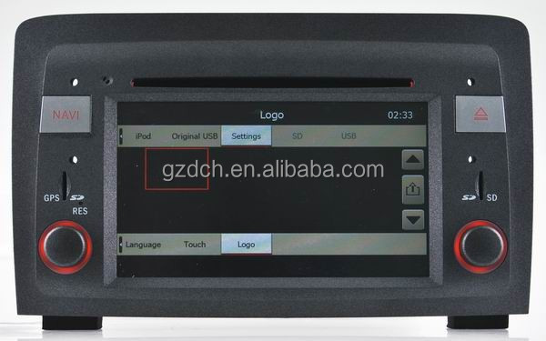 made in china car dvd player for Fiat Idea(2003 to 2007) Lancia Musa(2004-2008) WS-8718