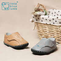 2016 littlebluelamb BB-A31602-CL infant soft leather baby shoes