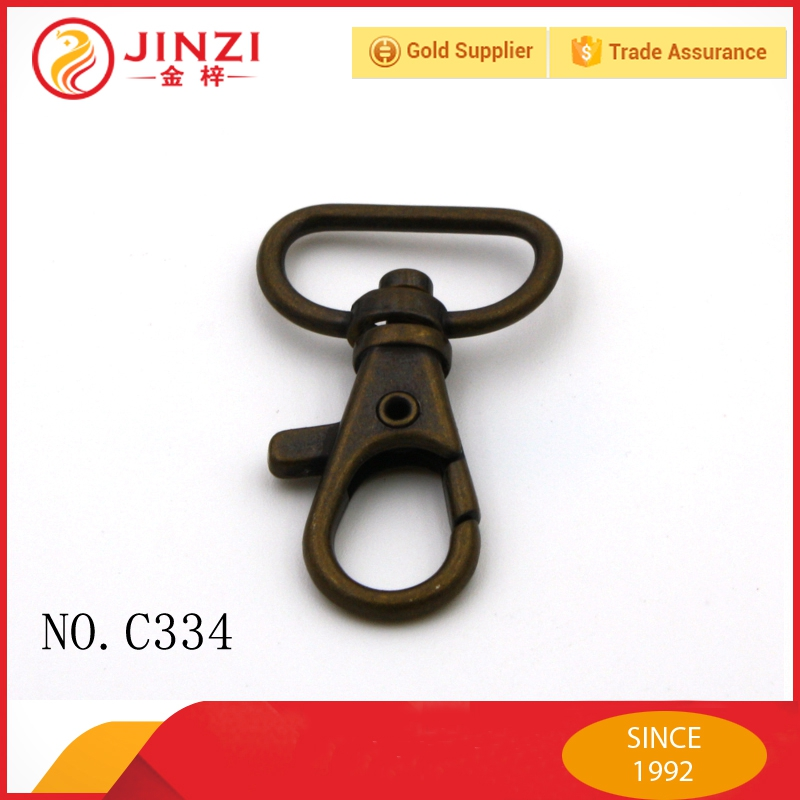 Jinzi good quality wholesale snap hook for handbag