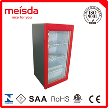 Commercial Countertop Beverage Showcase Refrigerator