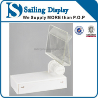 Promotional prices top quality magnetic tabletop display stand