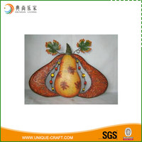 2016 harvest festival metal pumpkin Decoration
