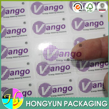 Shanghai factory custom cheap led mobile phone flashing sticker