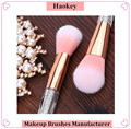 Diamond brush 2017 new arrival pink synthetic hair 7pcs professional makeup brushes
