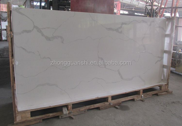High Quality Calacatta Quartz Stone Plate Price