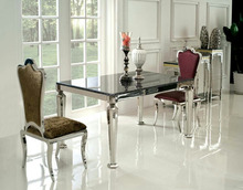 stainless steel restaurant dining room chair and table on saled XYN4205