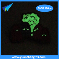 Professional custom badges, metal luminous badge production, glow in dark metal crafts