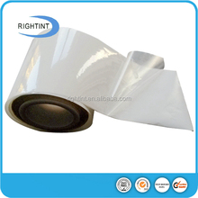 transparent online shopping mirror roll self adhesive for inkjet printing