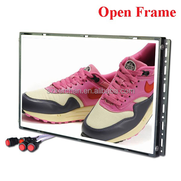 7/10/15.6/18.5/21.5 Inch Open Frame In-store video media player,lcd advertising player lock key