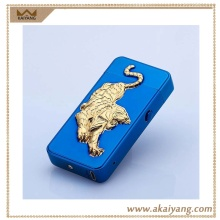Cigarette X Cross Arc Electronic Custom Animal Shaped Lighter Tiger