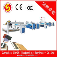 mdf particle board plastic plywood hot press laminating machine with high quality
