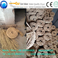 Hemp rope making machine grass straw rope knitting machine