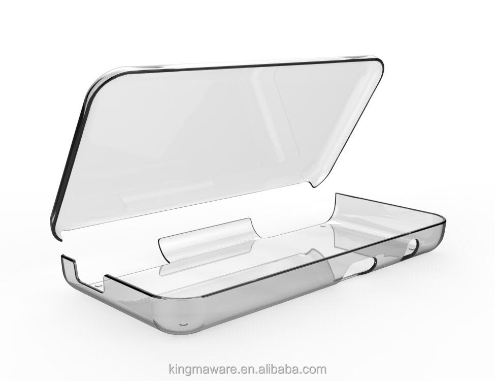 Comfortable Crystal protective case for Nintendo new 2ds xl ll