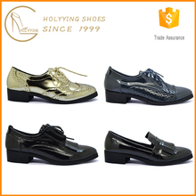 British Style Non Branded Latest Ladies China Wholesale Shoes