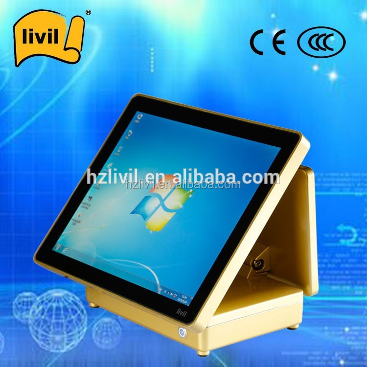 China factory supplier LCD capacitive touch screen tablet monitor desktop pos computer