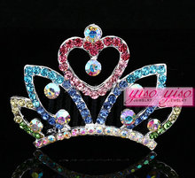artificial flower crown doll pageant crowns for kids