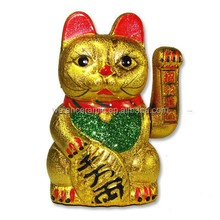 new kids toys for 2014 money cat pottery china new business porcelain motion cat toy kids toys for 2014