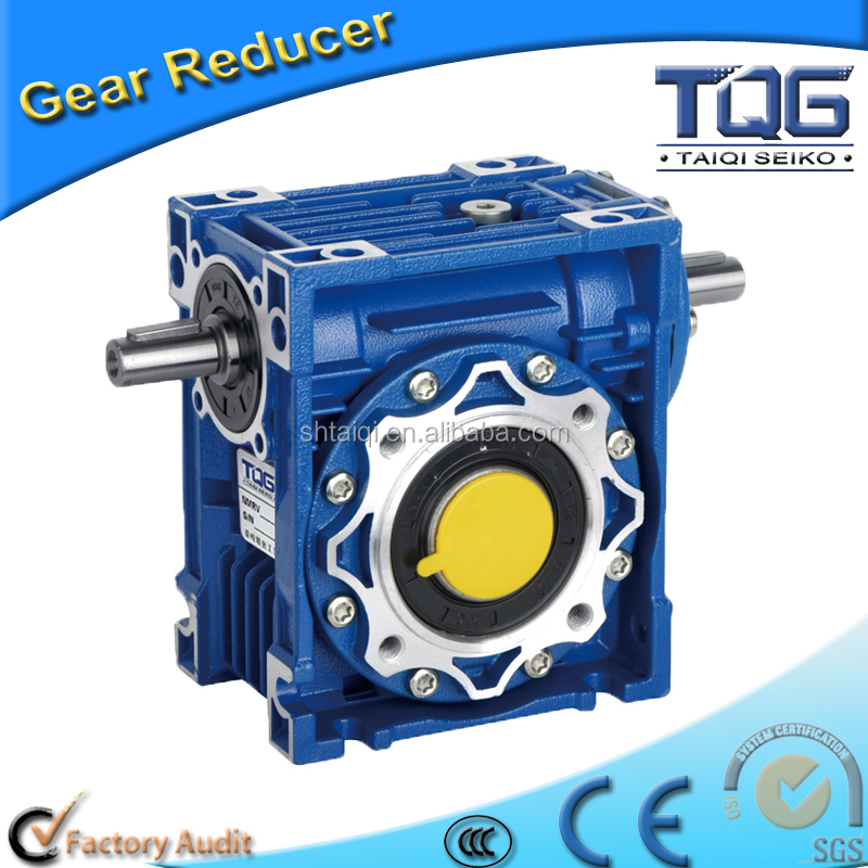 NRV Series CE Certificated Aluminum Body Worm Gearbox Reducer