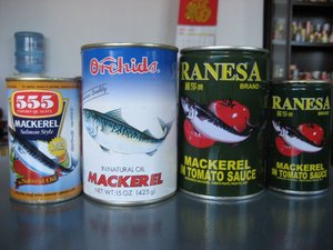 China Factory Canned seafood supplier canned mackerel for sale
