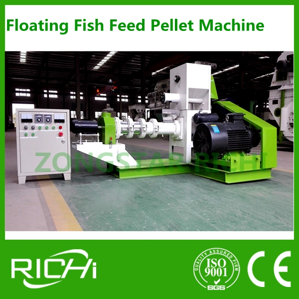 RICHI-- Sales Promotion !! 180 KG/H and 200 KG/H Floating Fish Feed Pellet Machine