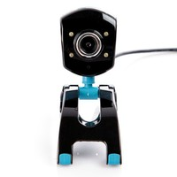 USB 2.0 50.0M 4 LED PC Camera HD Digital Webcam Camera Web Cam with MIC Microphone for PC Laptop