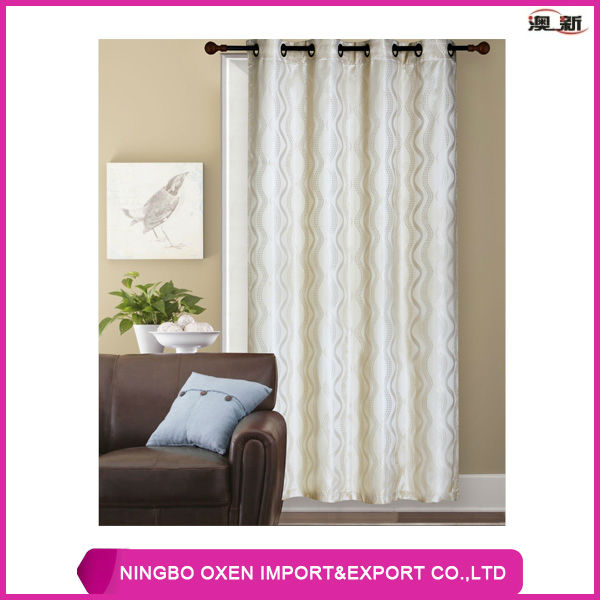 Jacquard Polyester Curtain Products, Manufacturers, Suppliers and ...
