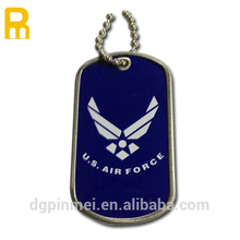 Custom classic style military dog tag for US air force with high quality