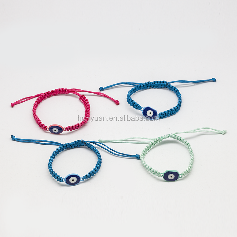 Fashion DIY Wax Cord Bangle Handmade String Wrap Bracelet