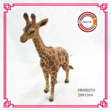 2015 new arrival wooden carving giraffe
