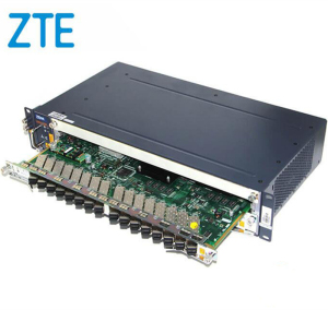 ZTE Olt Zxa10 c320 C320 Gpon Olt8 Port Subscriber PON Card, With SFP Optical transceiver