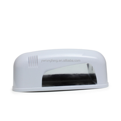 Nail Dryer Lamp Mini 9W 365+405nm White Light Support Cure Gel UV LED Lamp for Nail Gel Varnish Machine