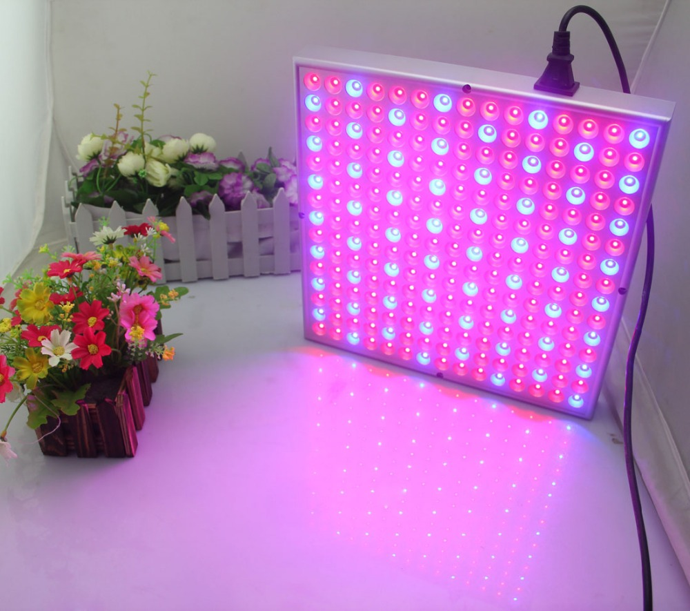 rgb led grow light panel 45w indoor growing light for greenhouse