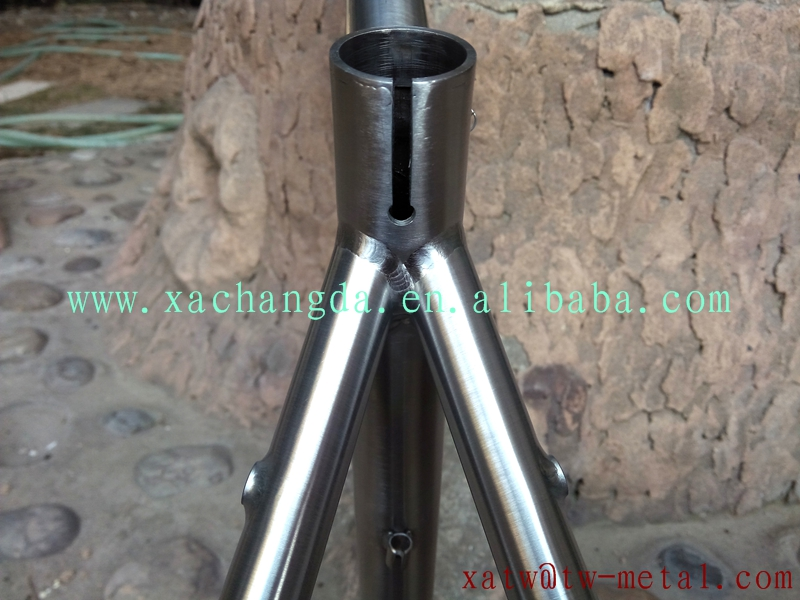 titanium mtb bicycle frame taper head tube titanium mtb bicycle frame with inner line routing