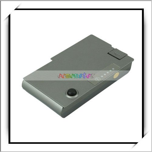 Laptop Battery For Dell Latitude D520 D530 D600 D610 Inspiron 600M C1295 Silver