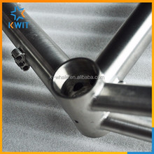 700c high quality titanium road bike frame in road