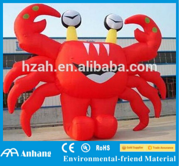 Cute Inflatable Crab /Inflatable Lobster for Advertising Decoration