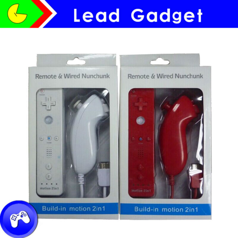 Wholeseal lowest price Remote and Nunchuck for Nintendo wii game High quality
