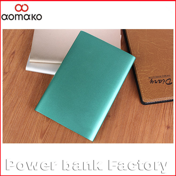 Portable fashion battery charger real capacity 15000mah metal cheap price OEM power bank slim for all smart phone