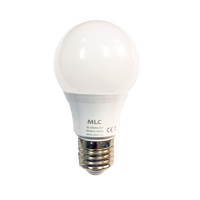A60 led light bulb e27 base with high PF China factory direct delivery