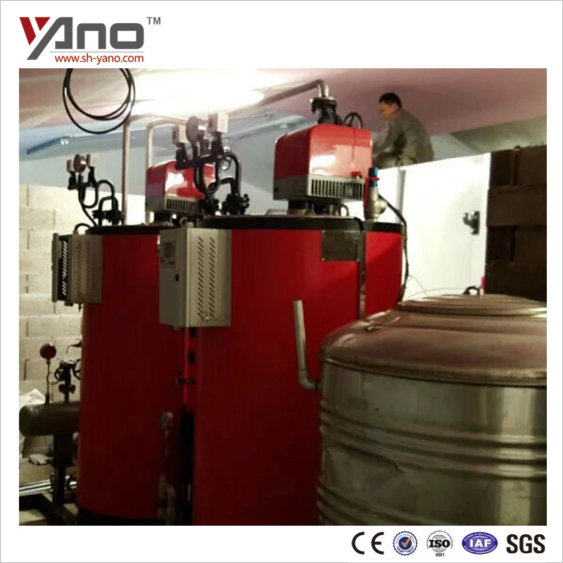 Beverage Sterilization Gas Fired 200KG 300KG Alcohol Distillation Boiler