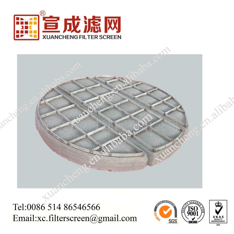 Knitted Titanium Wire Mesh For Filter, Knitted Titanium Wire Mesh ...