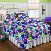 customized bohemian patchwork quilt set