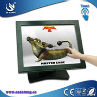 High Quality Desktop or Wall Mount 15 Inch Fanless LCD Touch Screen All In One PC Computer