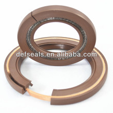 Split framework oil seal