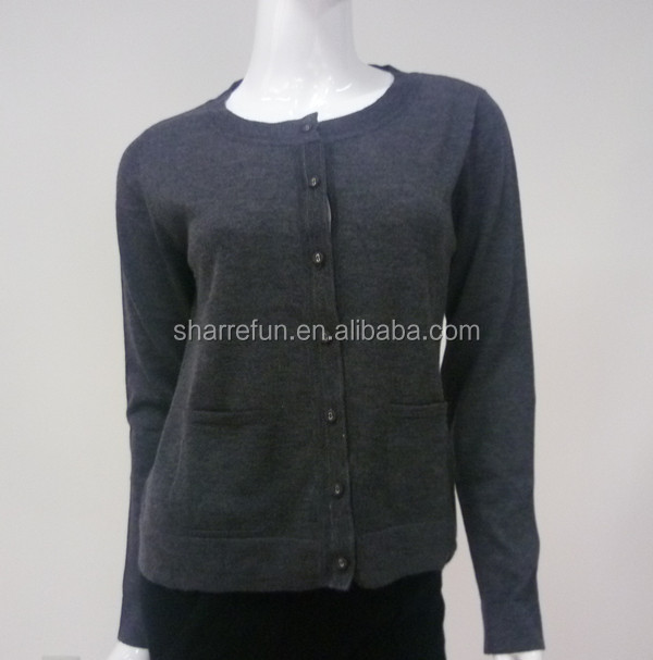 factory wholesale ladies cashmere cardigans with very fair price
