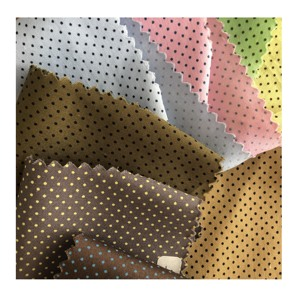 new fashion  wholesale  factory directly support 100% cotton dot printed woven cloth  fabric