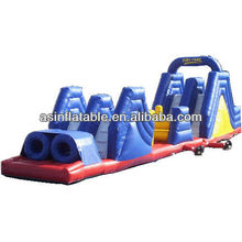 2012 hot-selling most popular Outdoor inflatable obstacle course for sale