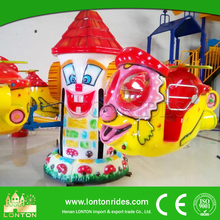 Carnival Amusement Ride Game Self Control Plane Kiddie Ride Helicopter Ride