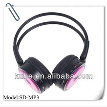 Best OEM wireless headphone with FM Sport mp3 player card function